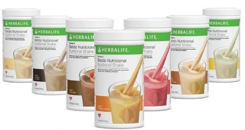 Batidos de proteínas para adelgazar de Herbalife