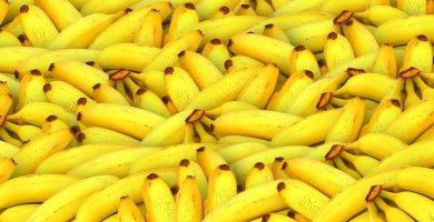 Plátano, energía instantánea - Superalimentos