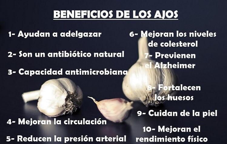 Beneficios del ajo para perder peso