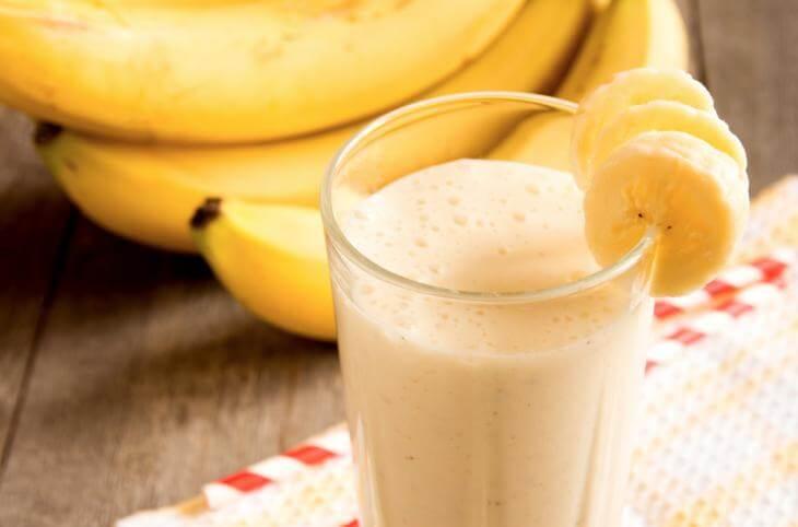 Suplementos de proteína de plátano