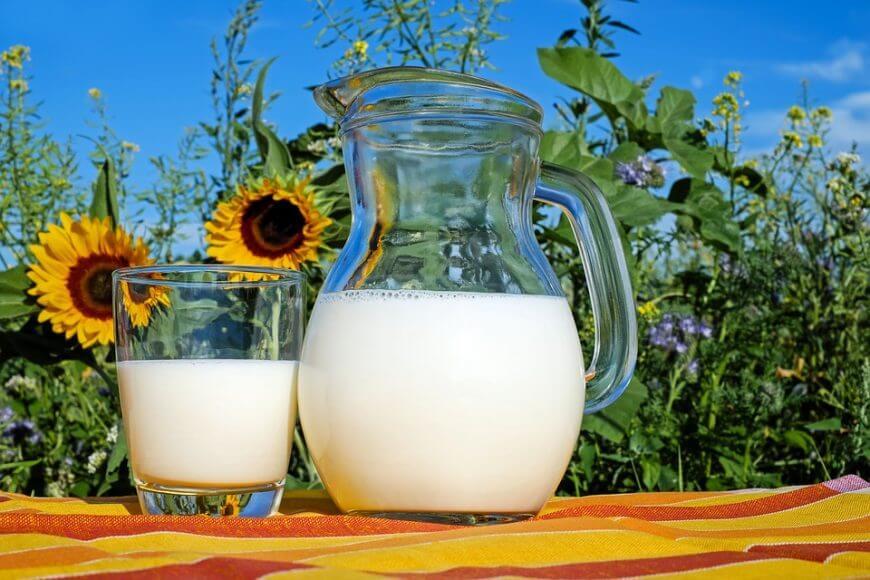 ¿Cuántas proteínas tiene la leche?
