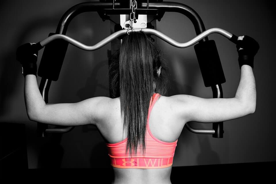 ¿Cómo perder peso con pesas?