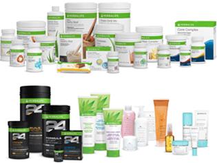 ¿Qué catálogo de productos tiene Herbalife en Chile?