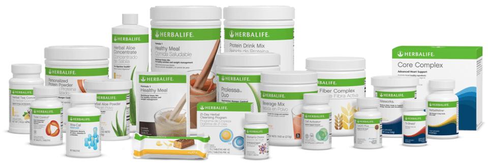 Tipos de productos Herbalife para bajar peso