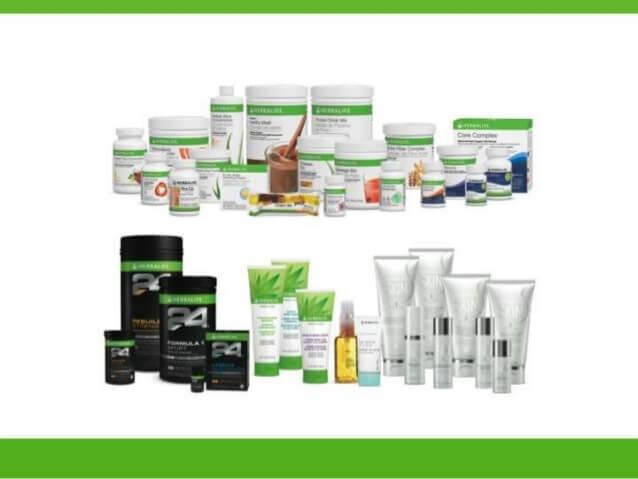 ¿Qué catálogo de productos tiene Herbalife en México?
