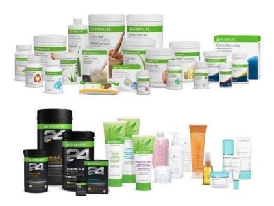 ¿Qué catálogo de productos tiene Herbalife en Inglaterra?