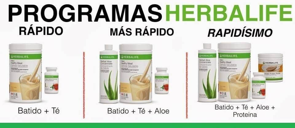 Metodo para adelgazar con herbalife shakes