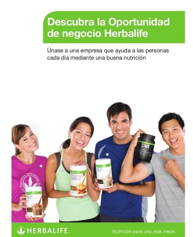 Beneficios de trabajar con productos Herbalife
