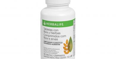 Tabletas con fibra y hierbas Herbalife - Uso, Beneficios y Precio