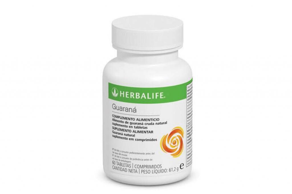 Las tabletas de guaraná de Herbalife