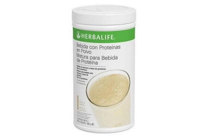 Batido de proteínas en polvo Herbalife
