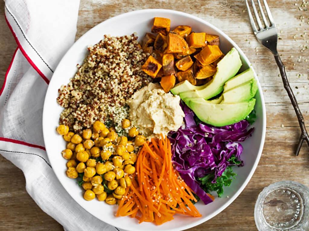 la cena saludable de Herbalife